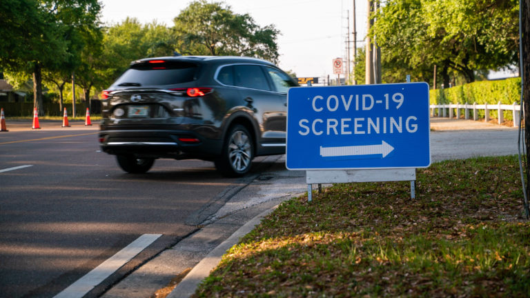Michigan Opens 13 Drive-Thru COVID-19 Testing Centers