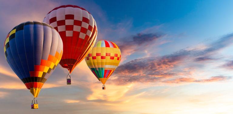 Nashville, MI's Hot Air Balloon Festival